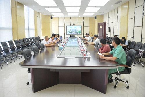 重庆市石柱县人社局到公司调研对口扶贫情况
