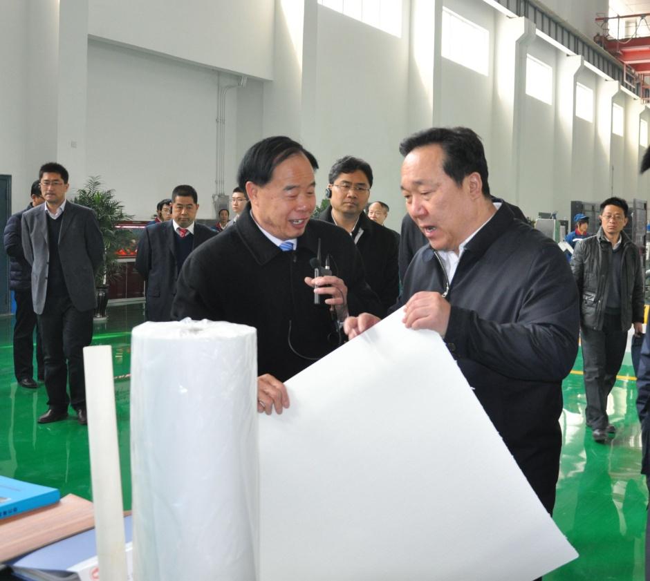 市委书记王浩到我公司调研