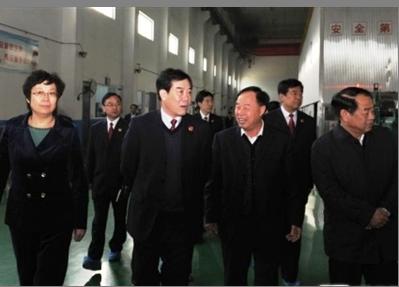 省检察院吴鹏飞检察长到齐峰调研